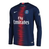 PSG Home Jersey Long Sleeve Mens 2018/19