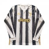 Juventus Home Jersey Long Sleeve Mens 2020/21