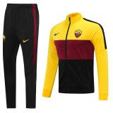 2020/21 Rome Black Red Yellow Jacket Tracksuit