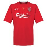 Liverpool Retro Home Champions Jersey Mens 2005