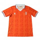 Netherlands Home Retro Jersey Mens 1995