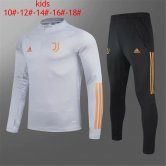 Kids Juventus Training Suit UCL Grey 2020/21