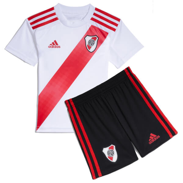 Kids 19-20 River Plate Home Football Kit