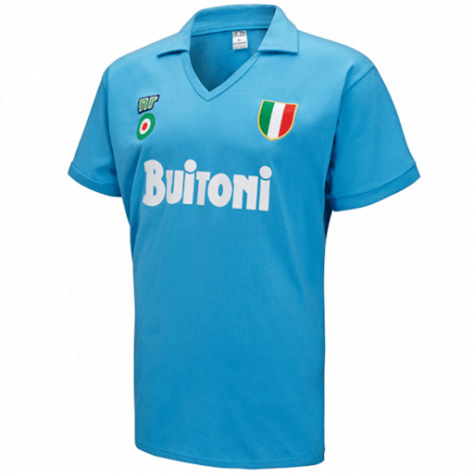 Napoli Retro Home Soccer Jerseys Mens 1987-88