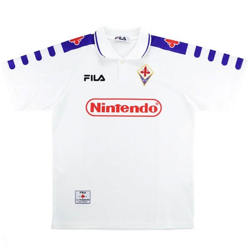 ACF Fiorentina Retro Away Soccer Jerseys Mens 1998